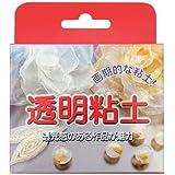 亀島商店 透明粘土 高い透明度と耐水性 50g KAM82-830