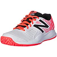 New Balance Women's 696v3 Tennis Shoes, Navy