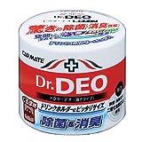 カーメイト 車用 除菌消臭剤 ドクターデオ(Dr.DEO) 置き型 ウイルス除去 無香 安定化二酸化塩素 販売ルート限定品 100g DSD4