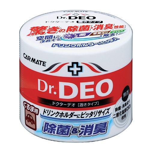 カーメイト 車用 消臭剤 ドクターデオ(Dr.DEO) 置き型 ウイルス除去...