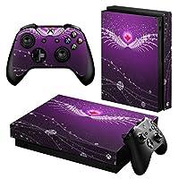 igsticker Xbox One X 専用 スキンシール 正面・天面・底面・コントローラー 全面セット エックスボックス シール 保護 フィルム ステッカー 004823