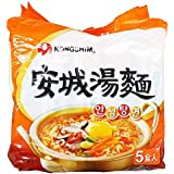 農心 安城湯麺(アンソンタンメン) 1パック(125g×5袋入り)