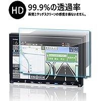 ホンダ VXM-187VFEi 液晶保護フィルム Honda 新型 8インチ インターナビ保護フィルム キズ防止 高透過率【RUIYA PET製2枚セット】