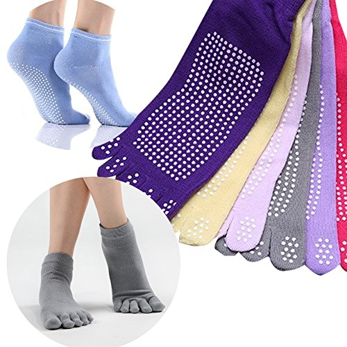 [해외]요가 양말 다섯 발가락 양말 미끄럼 방지 5 개의 손가락 스포츠 양말 양말/Yoga socks 5 fingers socks 5 non-slip fingers sports socks socks