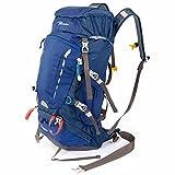 登山リュック 30L/40L 軽量 防撥水 旅行 多機能 リュック ザック バックパック 背中通気スポーツバッグ (ブルー40L)