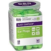 Flents Quiet Contour Ear Plugs (50 Pair) NRR 33