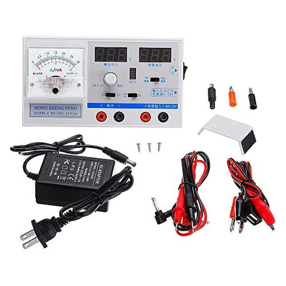 どんよりした分布こどもセンターBeho 100-240v 15V 2a 3a スイッチ調整可能な DC 電源電圧レギュレータ GSM 信号テスト - 2A
