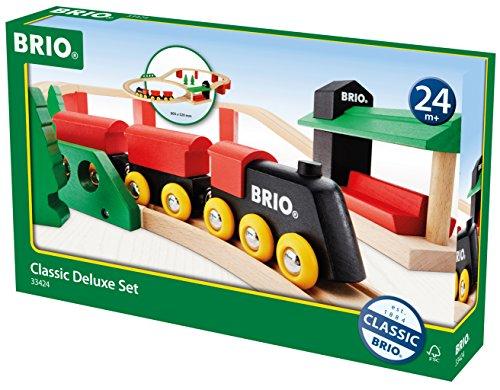 BRIO クラシックDXレールセット 33424