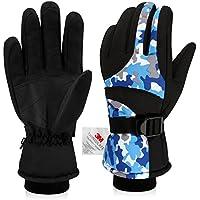 スキー手袋、YEENOR冬手袋防水熱断熱冬雪用手袋メンズレディース