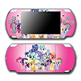 My Little Pony Friendship is Magic MLP Friends Cutie Marks Video Game Vinyl Decal Skin Sticker Cover for Sony PSP Playstation Portable Slim 3000 Series System by Vinyl Skin Designs [並行輸入品]