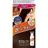 ホーユー ビゲン スピィーディーカラー 乳液 6 (ダークブラウン)1剤40g+2剤60mL