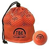 【Amazon.co.jp 限定】トビエモン(TOBIEMON) ゴルフボール R&A公認球 2ピース 12球入 オリジナルメッシュバック入 オレンジ