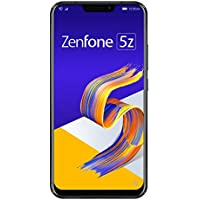 ASUS ZenFone 5Z SIMフリースマートフォン【日本正規代理店品】シャイニーブラック (500 Amazonコインクーポン付き) ZS620KL-BK128S6/A