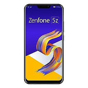 ASUS ZenFone 5Z 【日本正規代理店品】 6.2インチ/SIMフリースマートフォン/シャイニーブラック (6GB/128GB/3,300mAh) ZS620KL-BK128S6/A