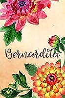 Bernardita: Personalized Journal for Her (Su Diario)
