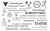 German text Transparent Clear Silicone Stamp Seal DIY Scrapbooking photo Album Decorative Clear Stamp A0707