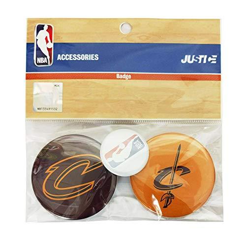 エヌビーエー NBA 缶バッチセット クリーブランド キャバリアーズ NBA32002 Men'sLady'sJr