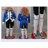 サクラ大戦3 巴里華撃団グリシーヌ ブルーメール 戦闘服風 コスプレ衣装 男女XS-XXXL オーダーサイズも対応可能