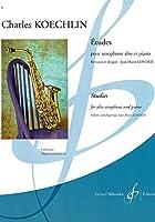 ケックラン : 15の練習曲 (サクソフォン、ピアノ) ビヨドー出版