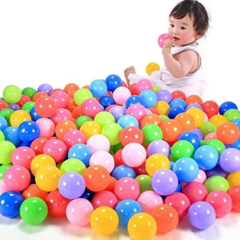 Swim Toysボール、Maple _ Leaf 50個カラフルな海洋ボール楽しいボールソフトプラスチックピットベビーキッドおもちゃSwim Pit 5.8 CMおもちゃ
