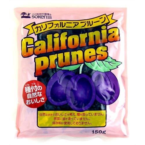 創健社 カリフォルニアプルーン 150g ×8セット