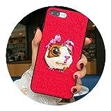 適用 iPhoneX韓国語刺繍携帯電話ケース,リトルプリンセス,適用 iPhone6 / 6Sもっと見る