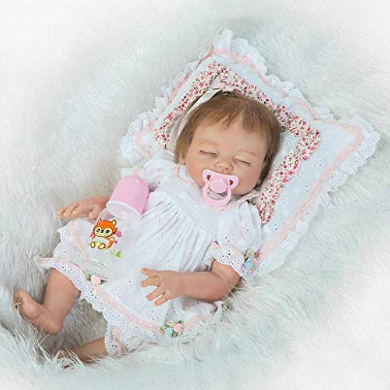 Terabithia 50 cm Rare Alive My Little SweetheartシリコンビニールフルボディRebornベビーガール人形