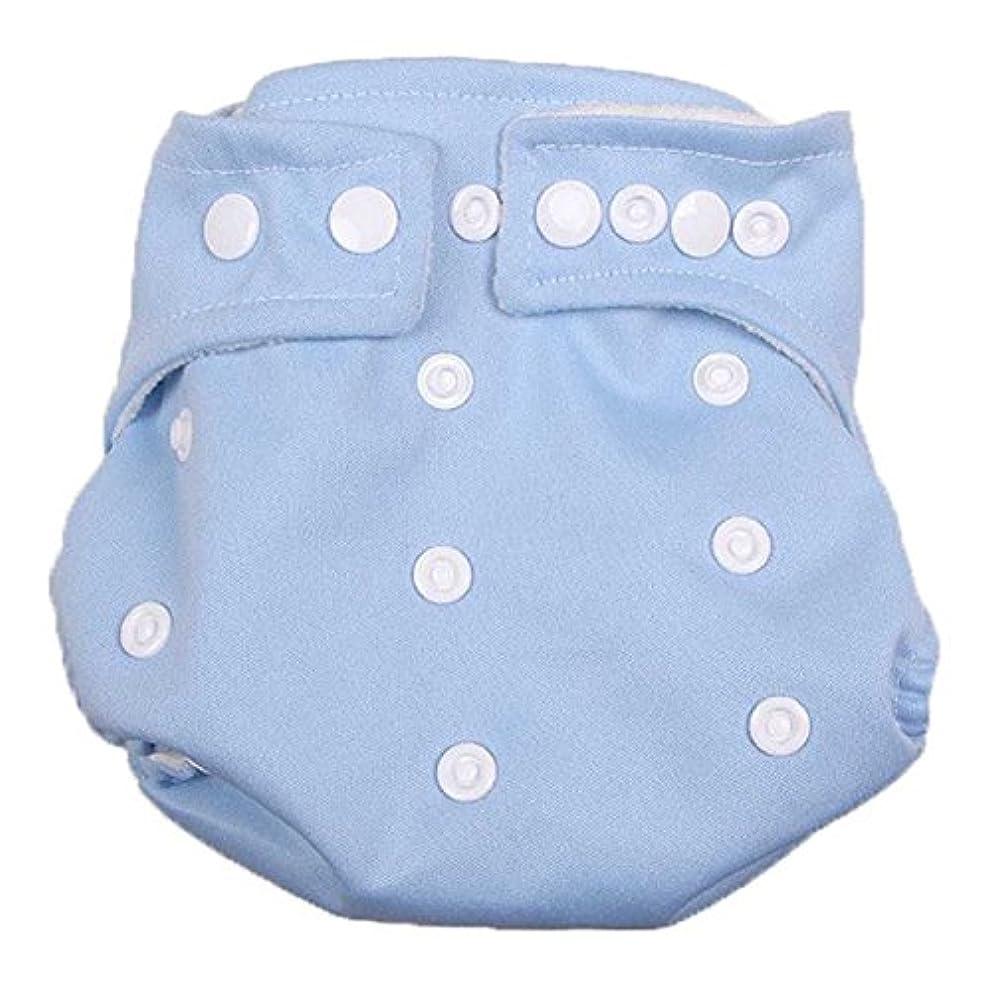 断言する経度知人ベビー用おむつ& # xff0 C、misaky再利用可能な洗濯可能調節可能なソフトコットンDry Tender Care Nappy