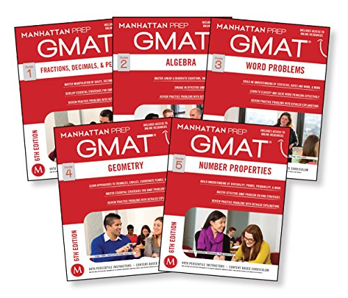 Download GMAT Quantitative Strategy Guide Set, 6th Edition (Manhattan Prep GMAT Strategy Guides) 1941234119