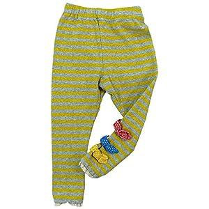 CHILD CHAMP(チャイルド チャンプ) スパンフライスリボン付きロング丈パンツ 90cm /イエロー NO.C-86151306