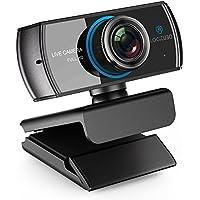 Logitubo HDウェブカメラ1080P/1536Pライブストリーミングカメラ300万画素デュアルマイクロフォンウェブカム付きXBox One/PC/Macbook/TV Boxサポ OBS/Facebook