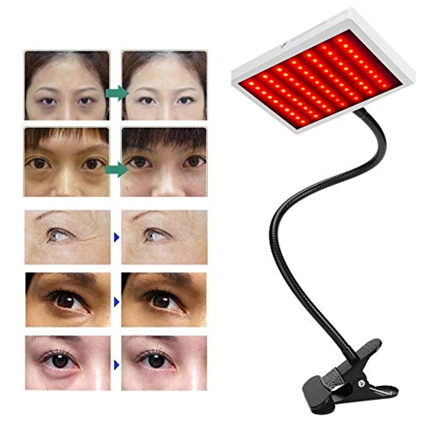 追い出す出版麦芽肌の若返りコラーゲン抗老化、しわのためのポータブル美容ランプ光子LEDライトレッドブルーセラピー