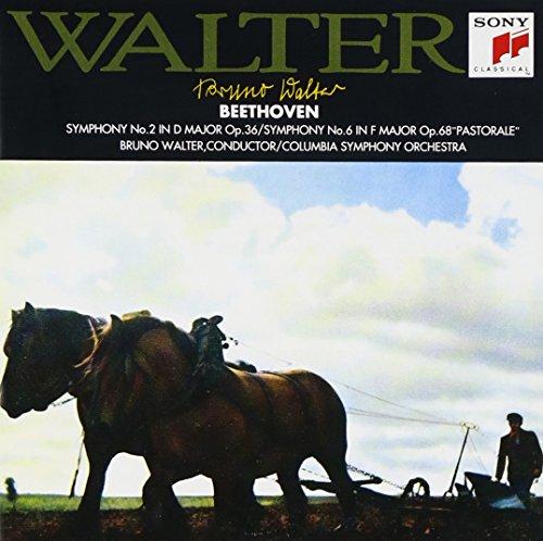 ベートーヴェン : 交響曲第2番、第6番「田園」
