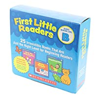 Scholastic First Little Readers Pack B (25 Books) with CD ファーストリトルリーダーズ・ボックスセットB (25冊・CD付き)