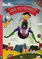 Baron von Muenchhausen und seine wundersamen Geschichten. Buch mit Audio-CD: Deutsche Lektuere fuer das GER-Niveau A1