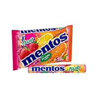 フルーツ5×38グラム (Mentos) (x 4) - Mentos Fruit 5 x 38g (Pack of 4)