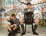 ブロマイド写真★ペット・ショップ・ボーイズ Pet Shop Boys/座る2人