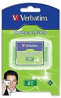 Verbatim CompactFlash 2GB Memory Card 47012 [並行輸入品]