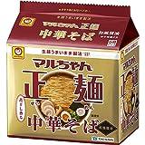 マルちゃん マルちゃん正麺 中華そば 和風醤油 5食パック(105gX5P)×6個