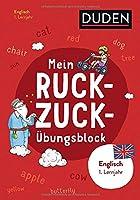 Mein Ruckzuck-Uebungsblock Englisch 1. Lernjahr