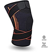 膝サポーター 膝固定 関節 靭帯 サポート 怪我防止 運動用 ひざサポーター 登山 ランニング バスケ スポーツ アウトドア 通気性 伸縮性 左右兼用