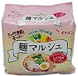 イトメン 麺マルシェ 減塩 ラーメン (しょうゆ味 86g×5食入)