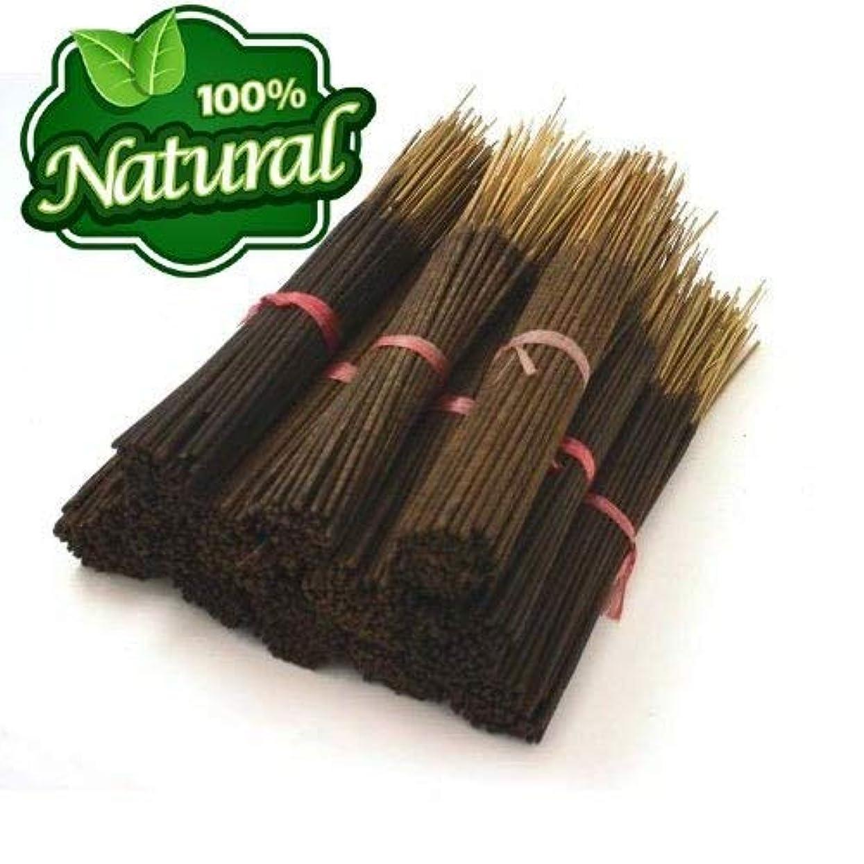 ハーブ思春期気晴らしBless-Frankincense-and-Myrrh 100%-natural-incense-sticks Handmade-hand-dipped The-best-woods-scent-500-Pack-(100x5)