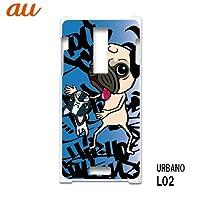 アルバーノL02 URBANO L02 L02 スマホケース カバー イヌ k-003