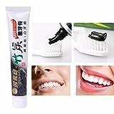 Orara beauty 歯を白くする歯磨き粉 歯磨きパウダー  ホワイトニング 活性炭 口臭を予防する炭歯磨き 歯科用 美白歯磨剤 フレッシュスペアミント