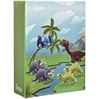 Arpan 6x4'' Small Kids Cute Dinosaurs in Prehistoric Scene Slip In Childrens Photo Album For 100 Photos by ARPAN