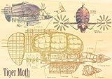 木のジグソー 天空の城ラピュタ 208ピース タイガーモス 208-W207
