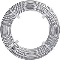TRUSCO(トラスコ) ステンレスワイヤロープ Φ2.0mmX20m CWS-2S20