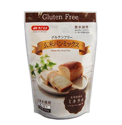 みたけ グルテンフリー玄米パンミックス