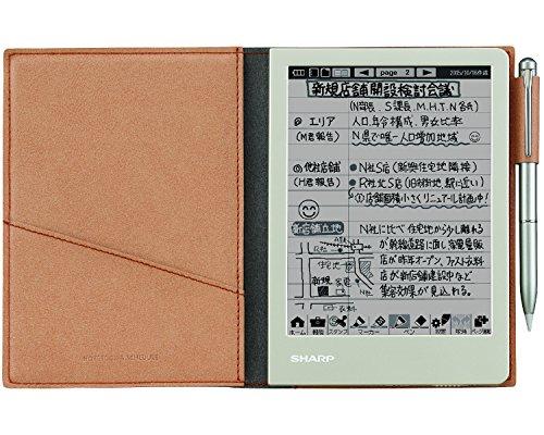 シャープの電子ノート アナログとデジタルの両方の利点を持つ手帳・ノート